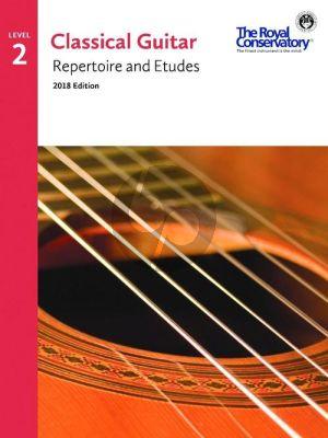 Album Classical Guitar Repertoire and Etudes Vol.2 (2018 Edition)