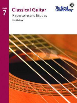 Album Classical Guitar Repertoire and Etudes Vol.7 (2018 Edition)