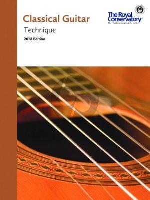 Classical Guitar Technique (2018 Edition)
