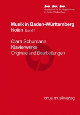 Schumann Klavierwerke Originale und Bearbeitungen (Herausgegeben von Joachim Draheim)