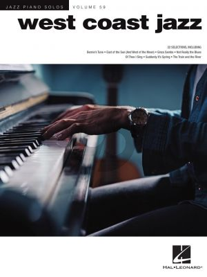 West Coast Jazz for Piano (Jazz Piano Solos Series Vol. 59) (arr. Brent Edstrom)