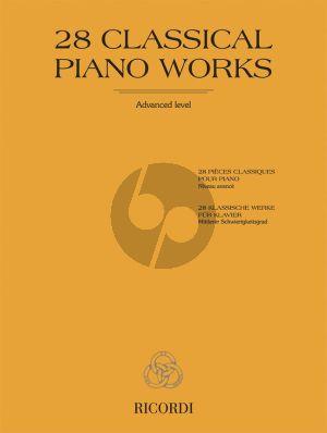 28 Classical Piano Works (Sigismondo Cesi and Ernesto Marciano)