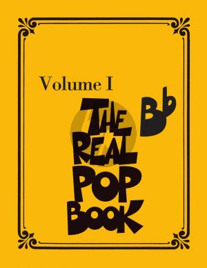 The Real Pop Book Vol. 1 Bb Instruments