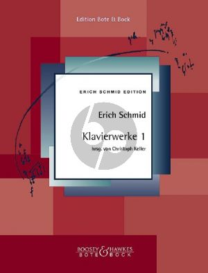 Schmid Klavierwerke Band 1 (Christoph Keller)