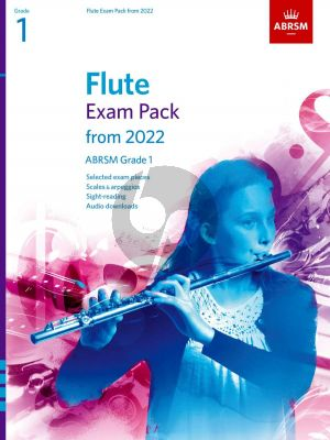Flute Exam Pack 2022-2025 Grade 1 (Book with Audio online)