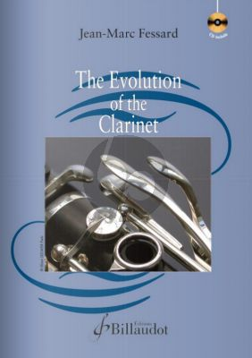 Fessard The Evolution of the Clarinet Book with Cd (English Edition)