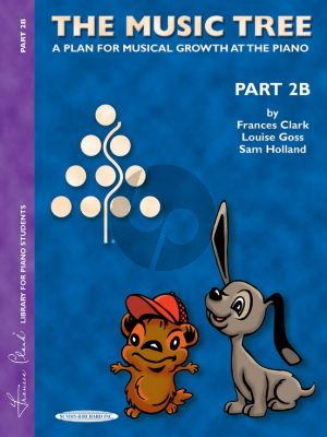 Clark Goss Holland The Music Tree Student's Book Vol.2B for Piano (A Plan for Musical Growth at the Piano)