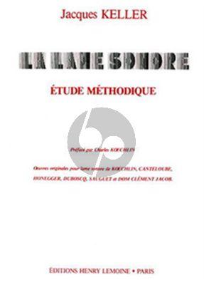 Album La Lame Sonore Etude Methodique for Musical Saw (Zingende Zaag)