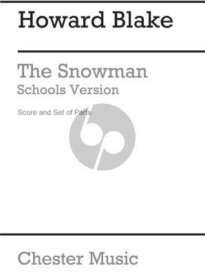 Blake The Snowman - Schools Version Score and Parts