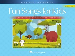 Linn Fun Songs for Kids for Piano (12 Very Easy Solos with Teacher Duets)
