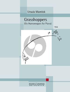 Mamlok Grasshoppers Piano solo (Six Humoresques)