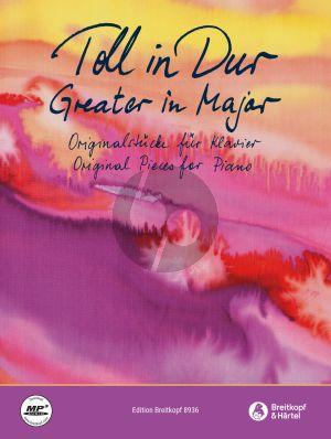 Toll in Dur - Fine in Major Piano (Buch mit MP3 Audiotracks online)