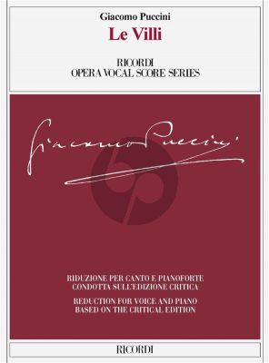 Puccini Le Villi Vocal Score (it,/engl.) (edited by Martin Deasy)