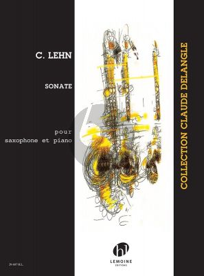 Lehn Sonate Saxophone Soprano et Piano