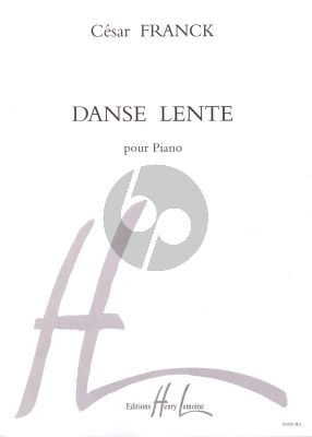 Franck Danse Lente Piano solo