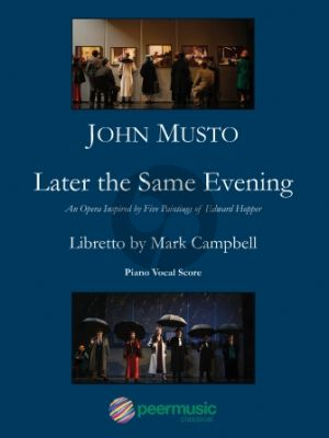 Musto Later the Same Evening Vocal Score