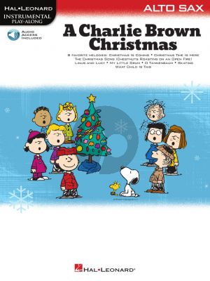 Guaraldi A Charlie Brown Christmas for Alto Saxophone (Book with Audio online)