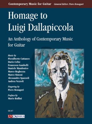 Homage to Luigi Dallapiccola for Guitar (An Anthology of Contemporary Music for Guitar) (edited by Piero Bonaguri)