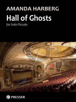 Harberg Hall of Gosts for Piccolo Flute Solo