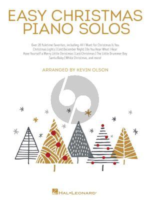 Easy Christmas Piano Solos (transcr. Kevin Olson)