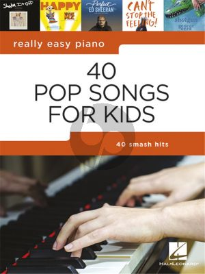 Really Easy Piano 40 Pop Songs for Kids