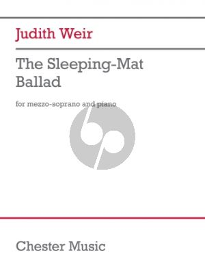 Weir The Sleeping-Mat Ballad Mezzo-Soprano and Piano