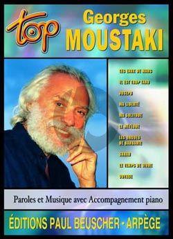 Top Moustaki Piano-Vocal-Guitar