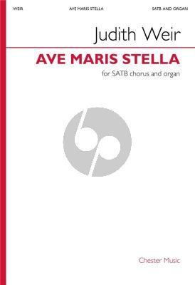 Weir Ave Maris Stella SATB and Organ