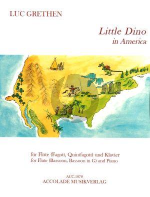 Grethen Little Dino in America für Flöte (Fagott, Quintfagott) und Klavier