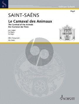Saint-Saens Le Carnaval des Animaux Orgel (transcr. Shin-Young Lee)
