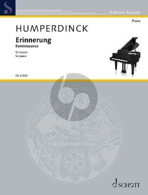 Humperdinck Erinnerung - Reminiscence Klavier (Hinrich Alpers)