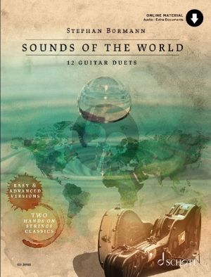 Bormann Sounds Of The World for 2 Guitars (Book with Audio online)