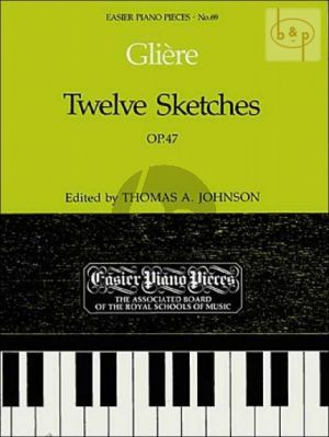 12 Sketches Op.47 Piano