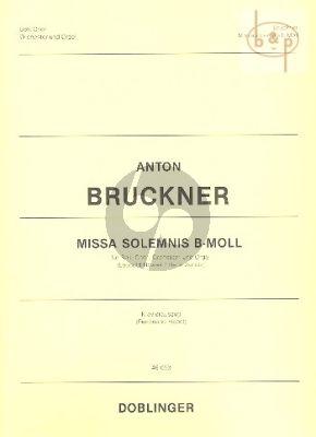 Missa Solemnis B-moll (1854)