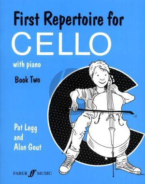 Legg Gout First Repertoire for Cello Vol.2 for Cello and Piano