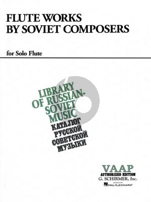 Flute Works by Soviet Composers Flute solo