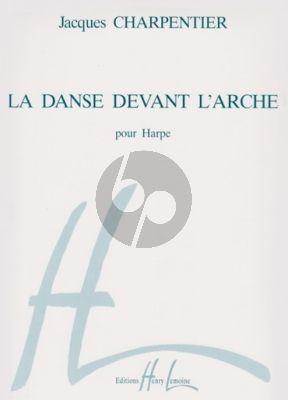Charpentier La Danse devant L'Arche pour Harpe
