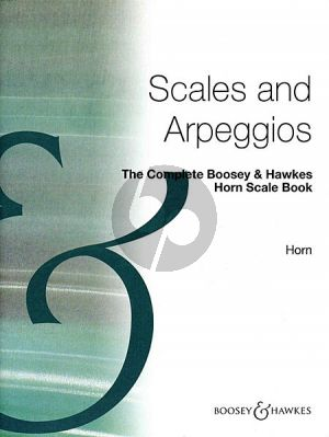The Complete Boosey Scale Book Horn