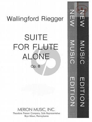 Suite Op.8 for Flute Solo