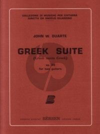 Duarte Greek Suite Op.39 2 Guitars