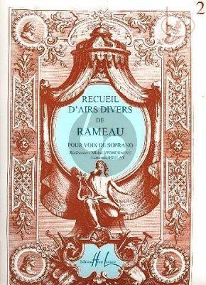 Recueil d'Airs Divers Vol.2