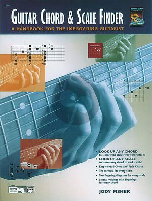 Fisher  Guitar Chord & Scale Finder (A Handbook for the Improvising Guitarist)