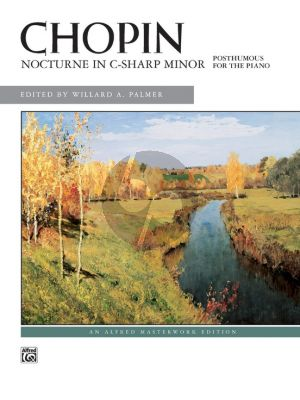 Chopin Nocturne No.20 C-sharp minor Op. posth. Piano (edited by Willard A. Palmer)