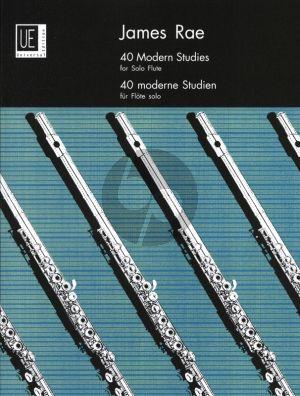 Rae 40 Modern Studies for Flute (Grades 1 - Diploma)