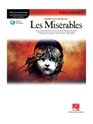 Les Miserables Play-Along Pack for Trumpet