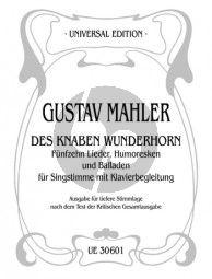 Mahler 15 Lieder-Humoresken und Balladen aus des Knaben Wunderhorn Tiefere Stimmlage