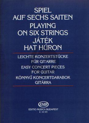 Easy Concert Pieces Guitar solo (Miklos Mosoczi)