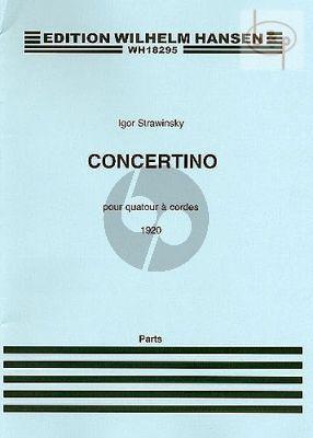 Concertino (1920) 2 Violins-Viola-Cello