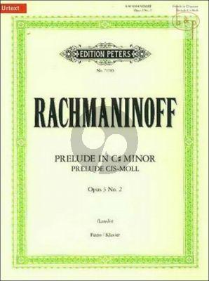 Prelude cis-sharp minor Op.3 No.2