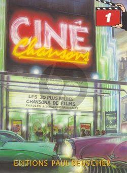 Cine Chansons Vol.1 Chant-Piano